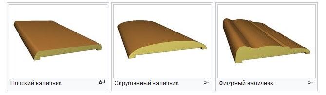 Формы деревянных наличников